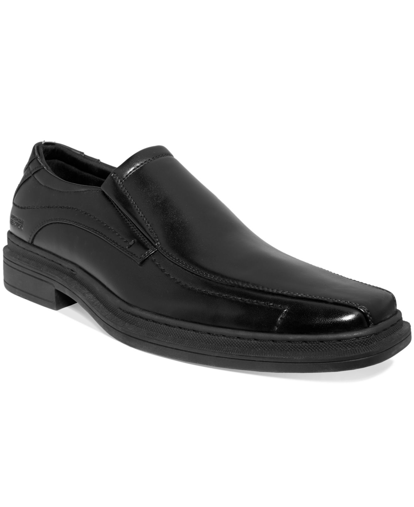 kenneth cole reaction base jump slip on shoes in black for