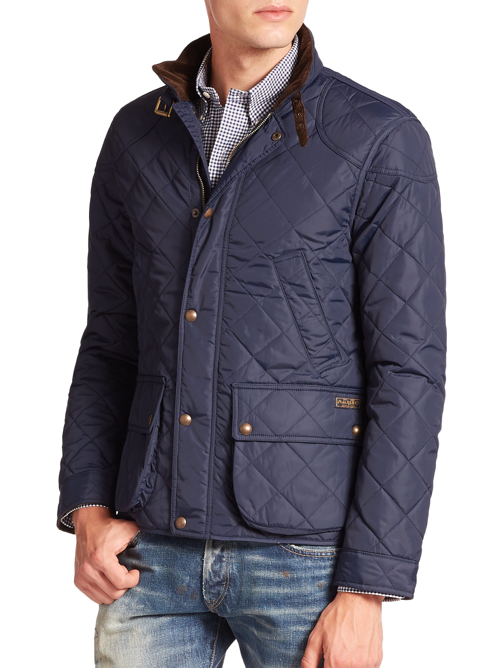 Lyst Polo Ralph Lauren Cadwell Quilted Bomber Jacket In