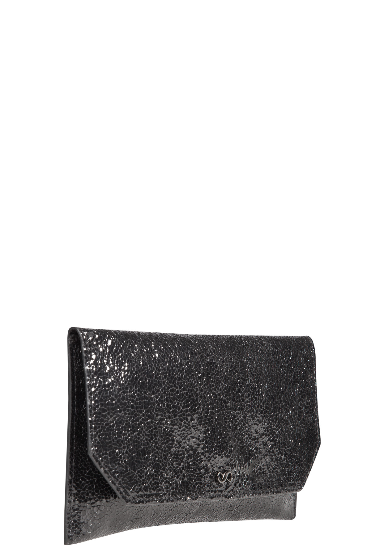 STUDDED ATTITUDE piercing detail neoprene bag with key chain decoration Dorothee Schumacher nuflgxaQF