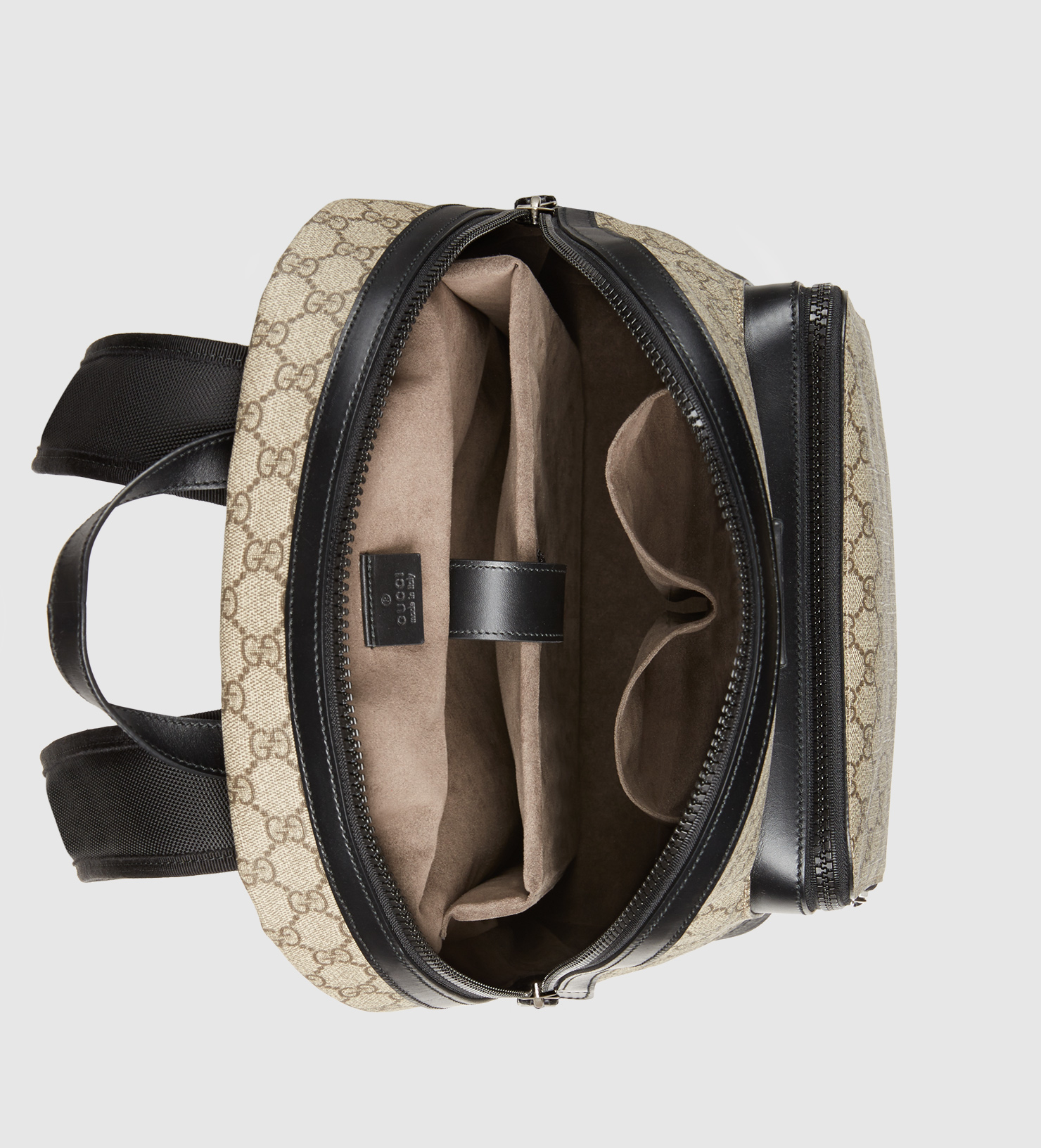 ced1307c221 Lyst - Gucci Gg Supreme Backpack in Black for Men