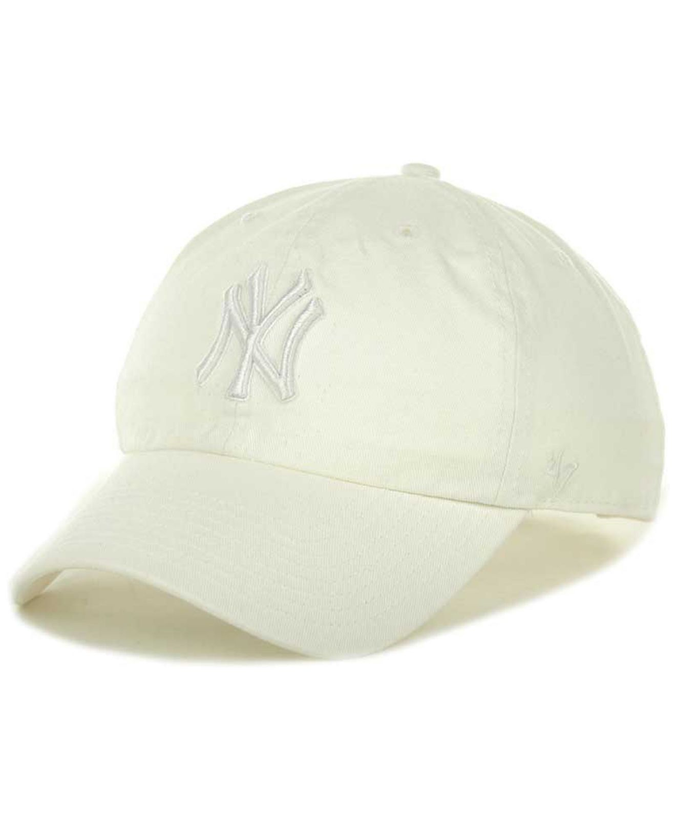 0d81172951944 47 Brand New York Yankees Clean Up Hat in White for Men - Lyst