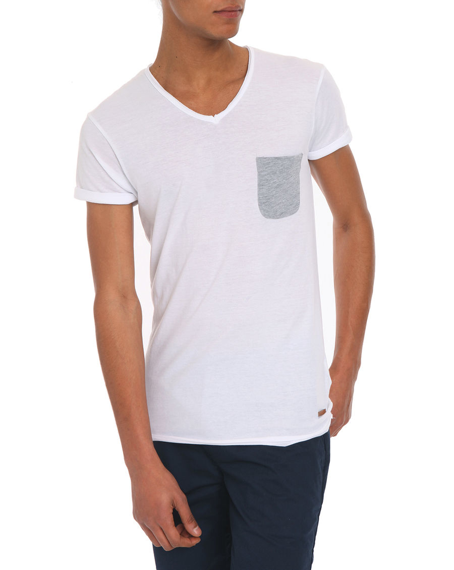 eleven paris babico white t shirt in white for men lyst. Black Bedroom Furniture Sets. Home Design Ideas