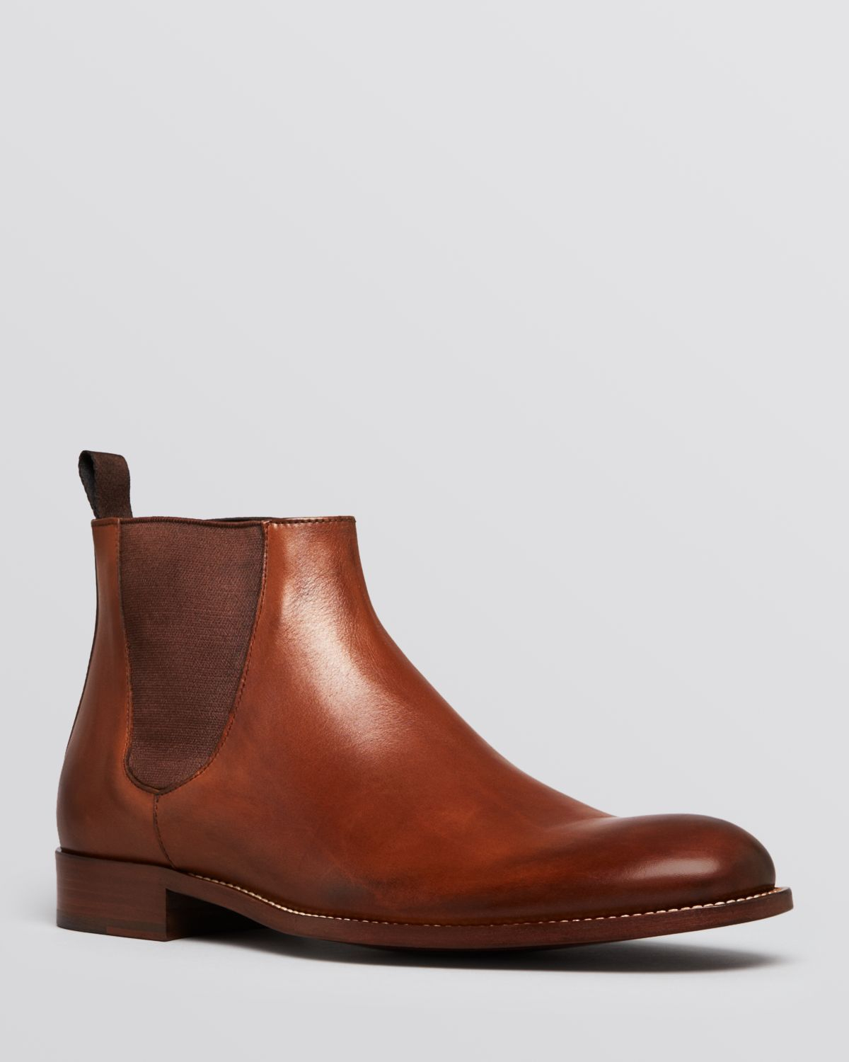 lyst to boot newbern chelsea boots in brown for men. Black Bedroom Furniture Sets. Home Design Ideas