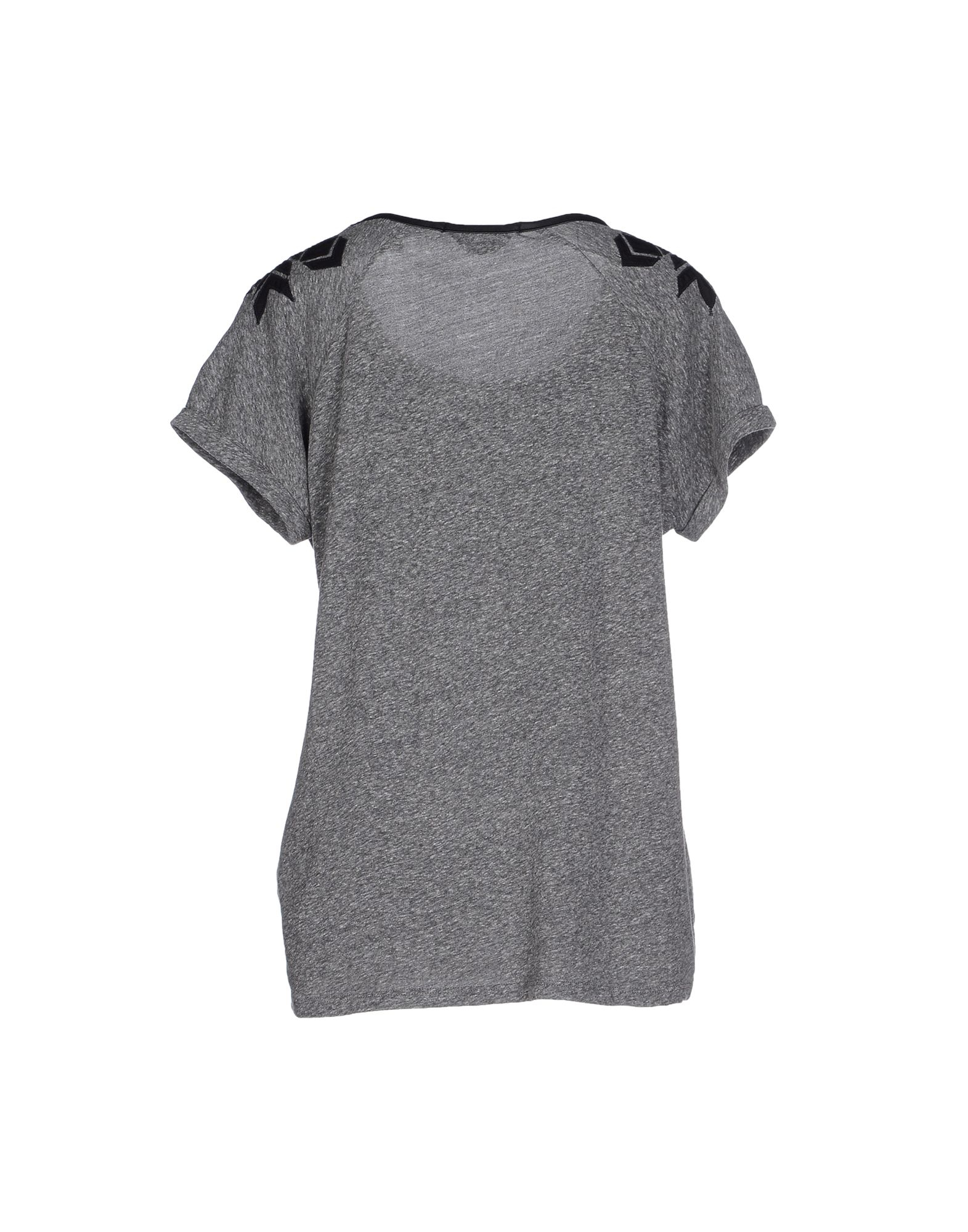 Lyst maison scotch t shirt in gray for About maison scotch