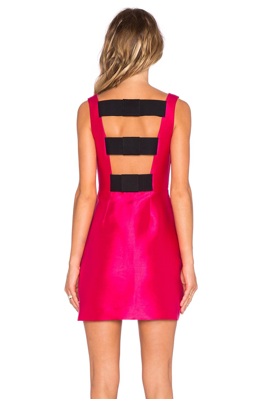 Kate Spade New York Flirty Back Mini Dress In Pink