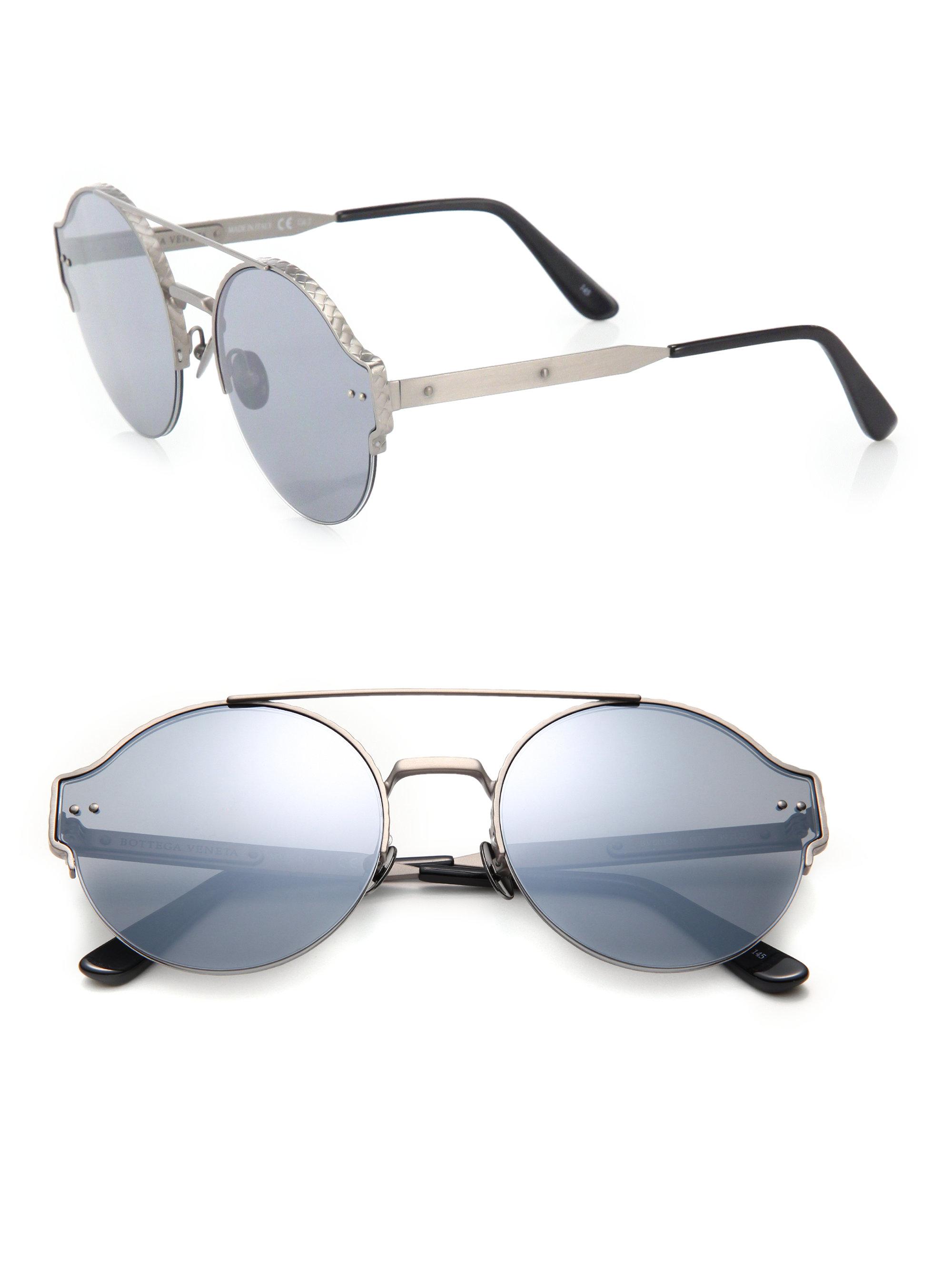 Aviator-frame metal sunglasses Bottega Veneta wCDsbn