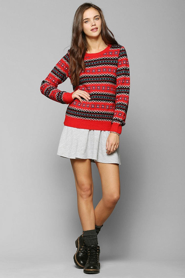 Urban outfitters Coincidence Chance Classic Fair Isle Sweater in ...