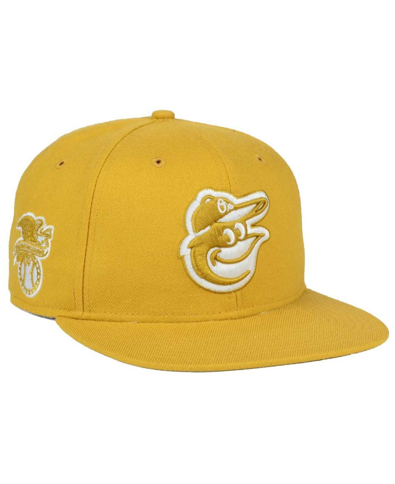 45770e21f08 Lyst - 47 Brand Baltimore Orioles Wheat Sure Shot Snapback Cap in ...