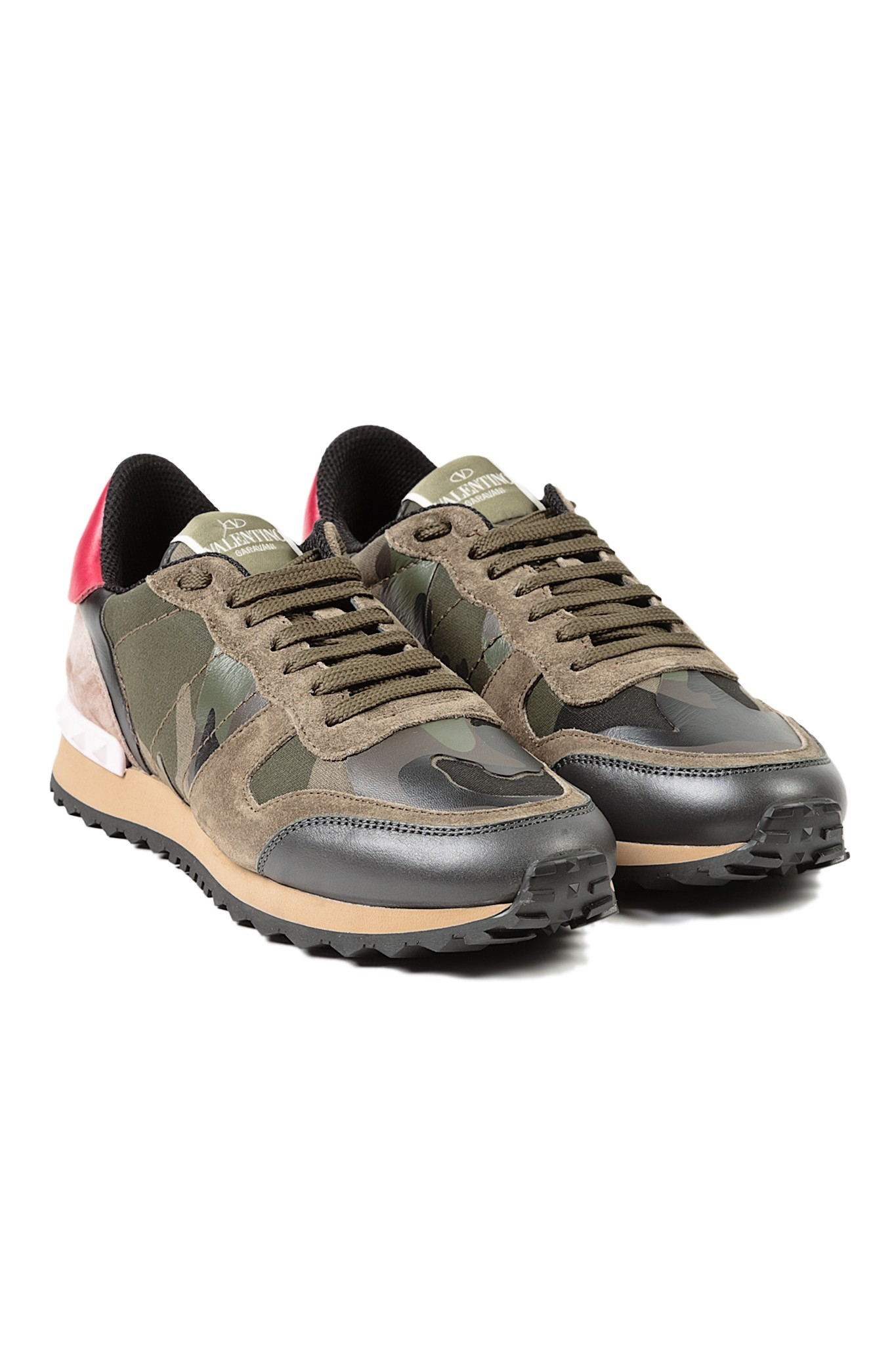Valentino Sneaker in Green (ARMY)