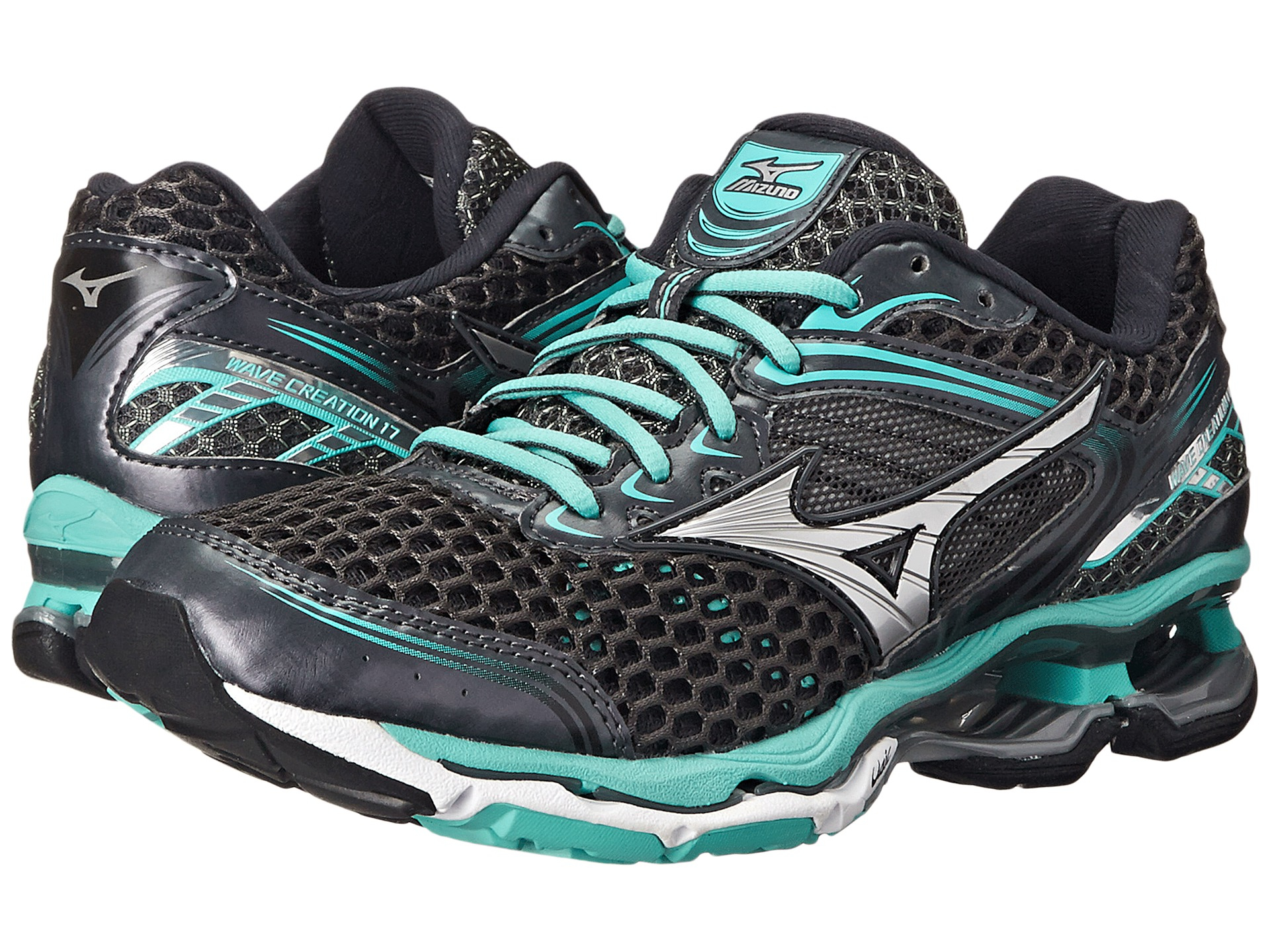 watch ec8e4 f5eb6 ... womens running shoes 7aefd 5e9d8  coupon for authentic db92b aebdb lyst mizuno  wave creation 17 in black coupon code ca408 dc850