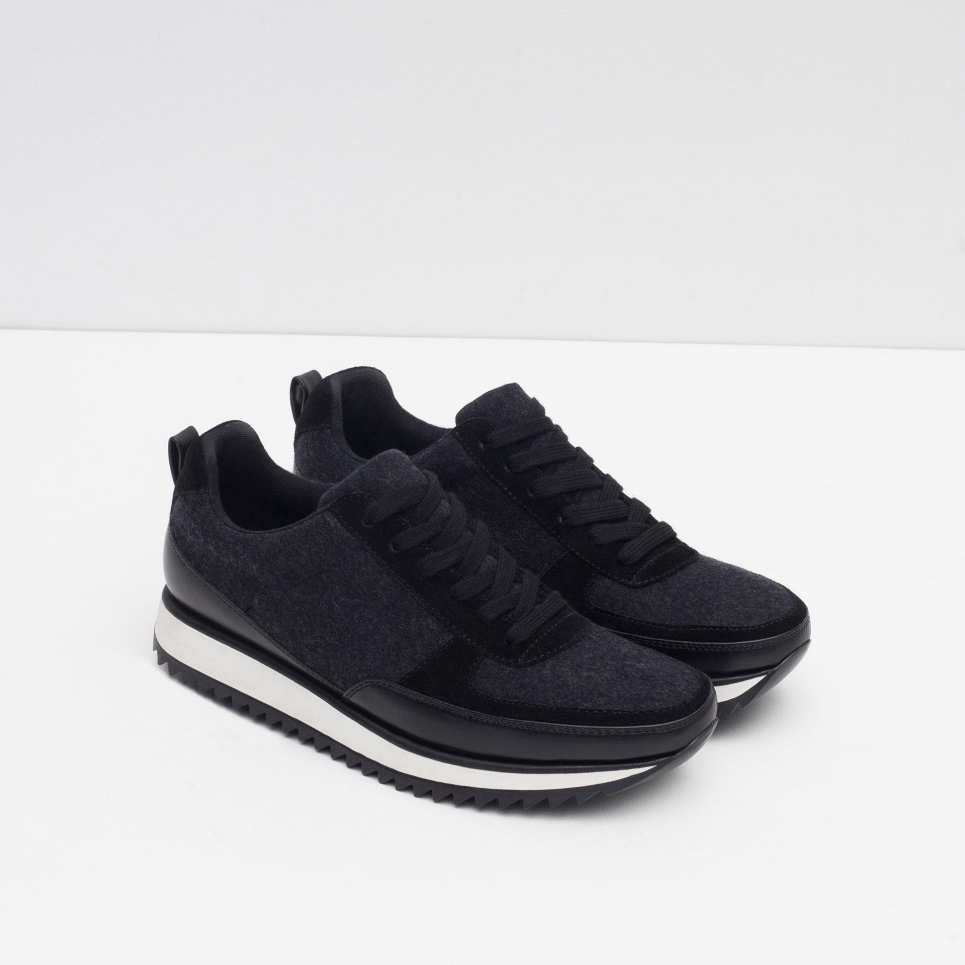 Zara Shoes Black Heels