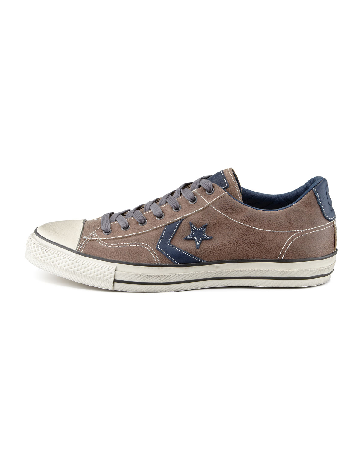 Converse Leather Star Player Ev Lowtop Sneaker Brownblue