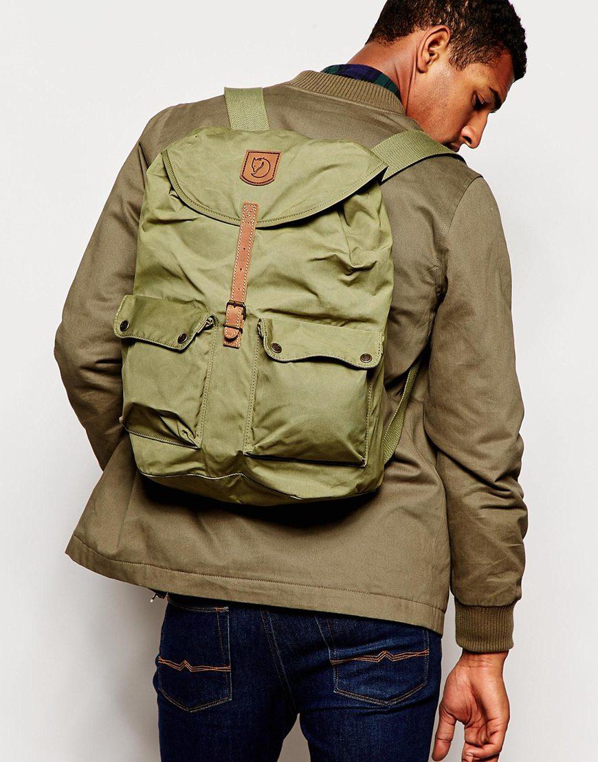 Fjallraven Greenland Backpack In Green For Men Lyst Kanken Laptop 15ampquot Royal Blue