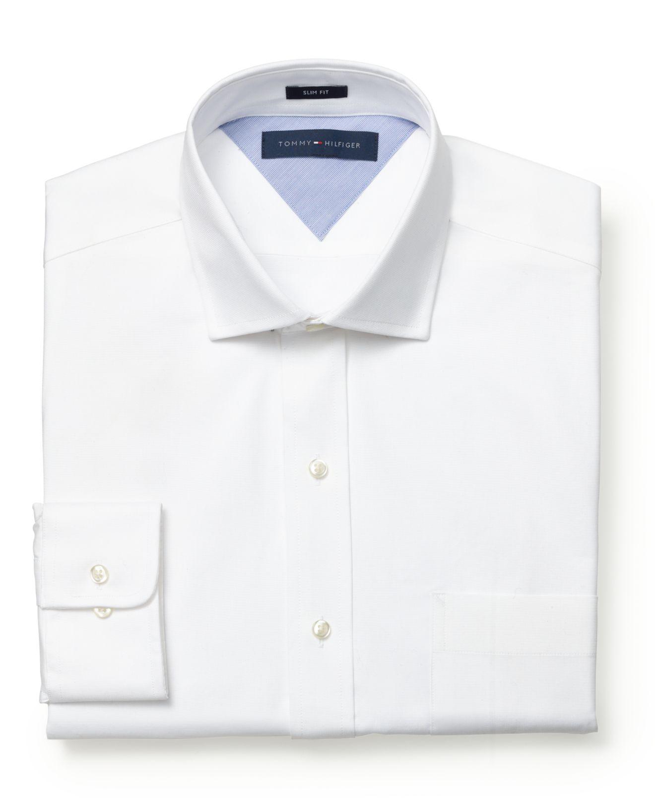 b45ce09ec84 Tommy Hilfiger - Shop online & buy Tommy Hilfiger men's ... With a  flattering Slim Fit ...
