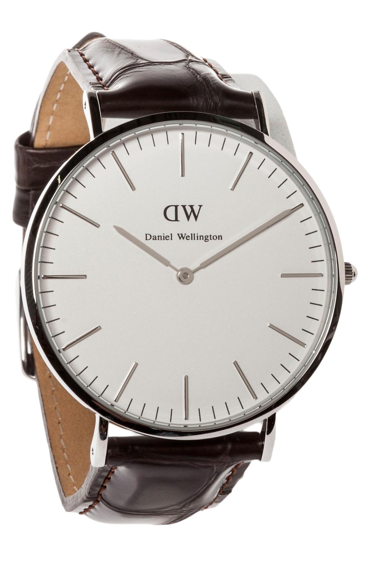 dcfe6ed14acb5 Lyst - Daniel Wellington The Classic York Watch in Metallic for Men