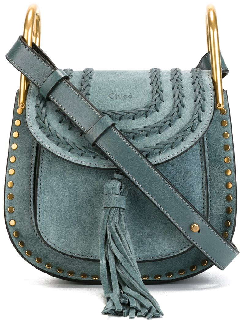 chlo mini 39 hudson 39 crossbody bag in blue lyst. Black Bedroom Furniture Sets. Home Design Ideas