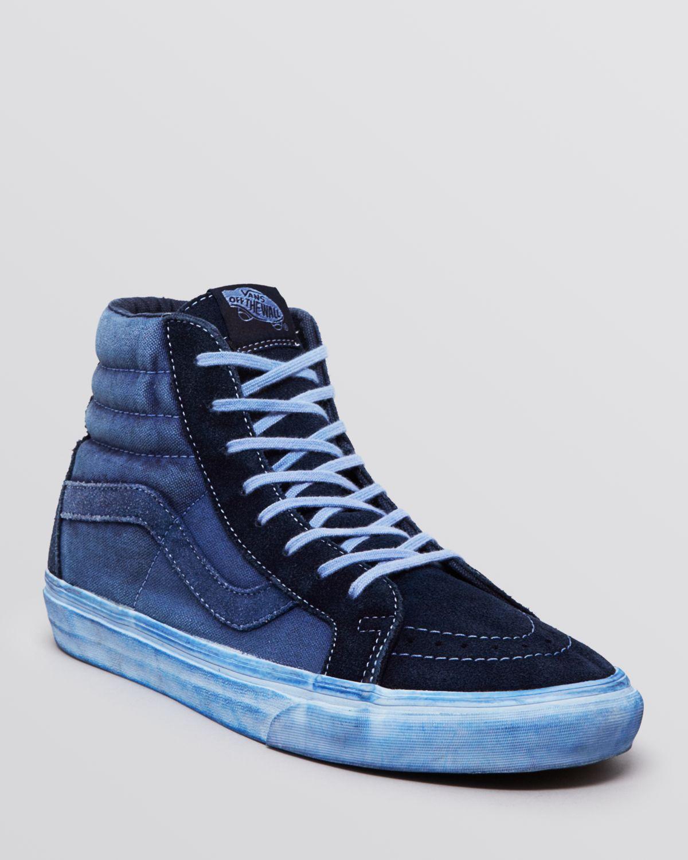 73b3d7fe3cd8 Lyst - Vans Sk8 High Top Reissue Ca Sneakers in Blue for Men