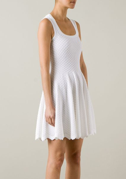 Alaia White Dress Alaa Azzdine Alaa White