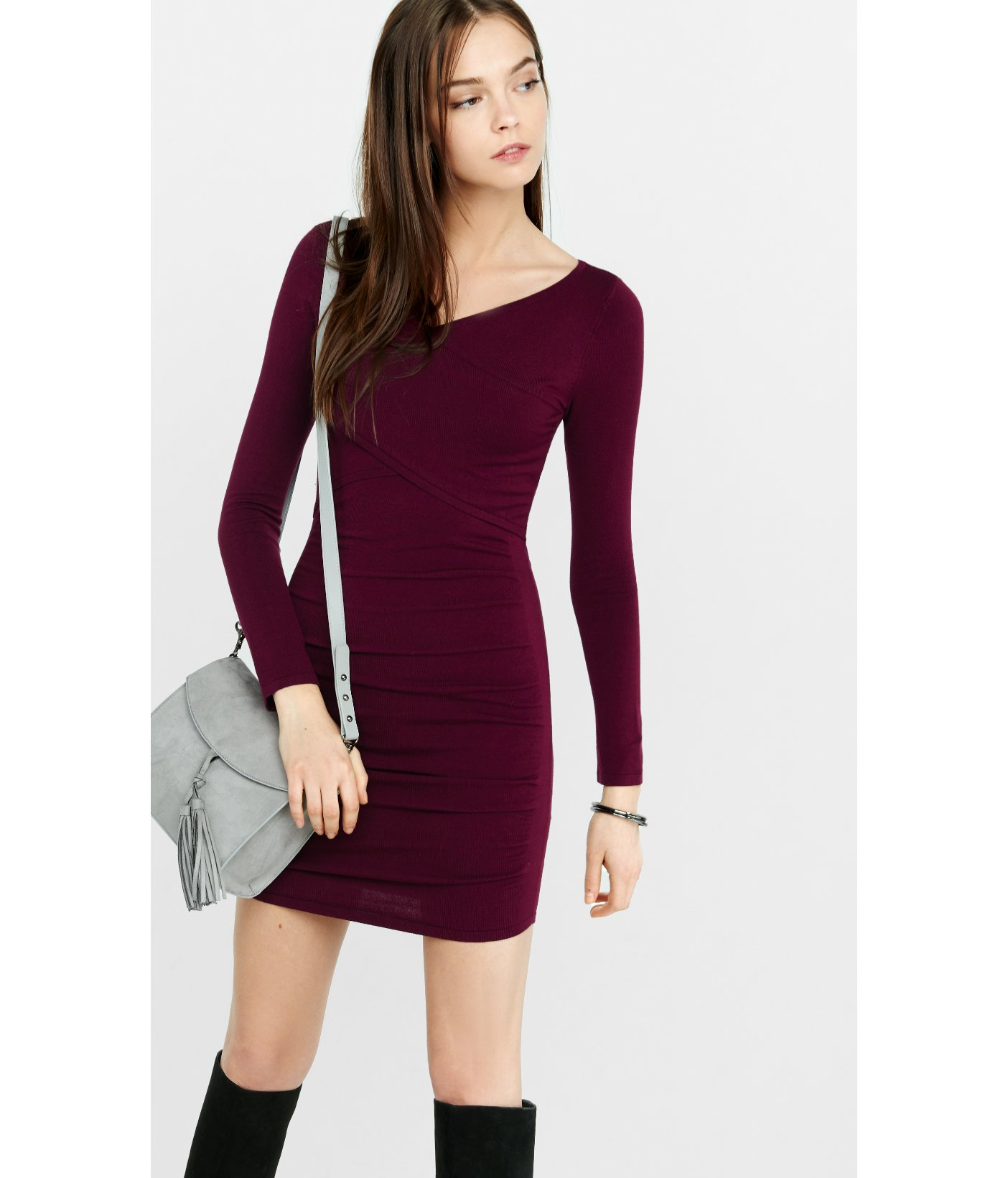 Showing 62 purple sweaters dress Related Searches: Purple A Line Dresses Purple Sleeveless Dresses Purple Fitted Dresses Purple Back Zip Dresses Purple Zip Closure Dresses View Related Searches Free Shipping $40+ at H&M H&M Mohair-blend Sweater.