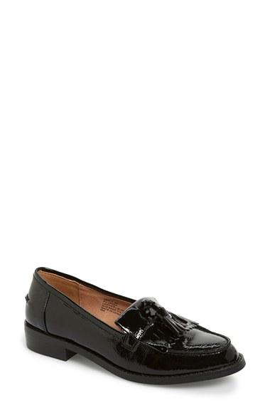 7cf59019c62 Lyst - Steve Madden  meela  Loafer in Black