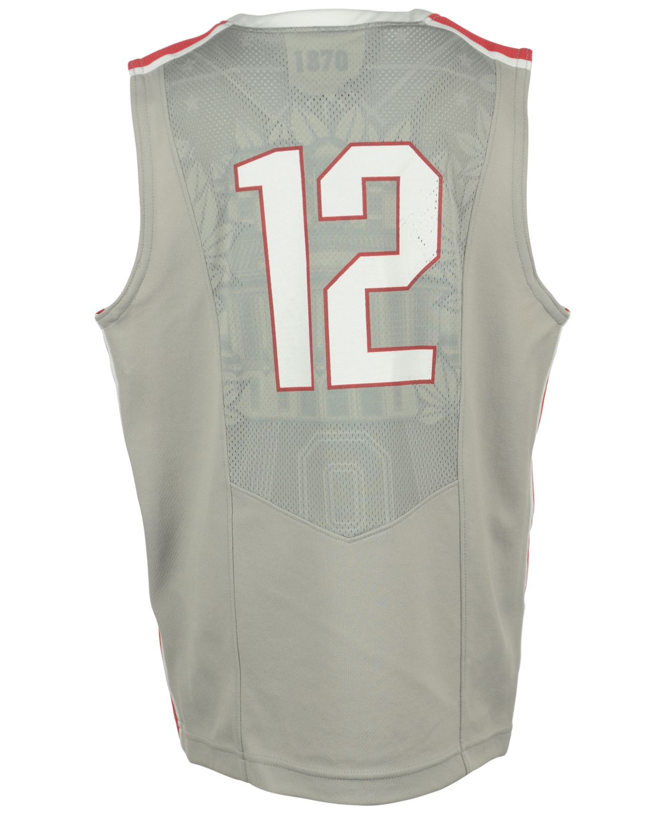 a613e38cde0 Lyst - Nike Boys  Ohio State Buckeyes Replica Basketball Jersey in Gray