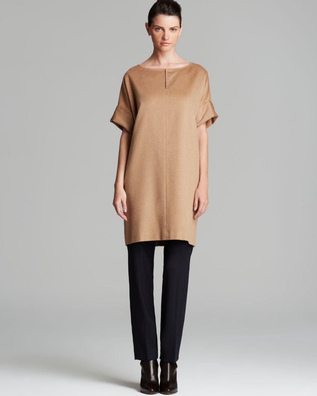 Max Mara Dress Vespa In Brown Lyst