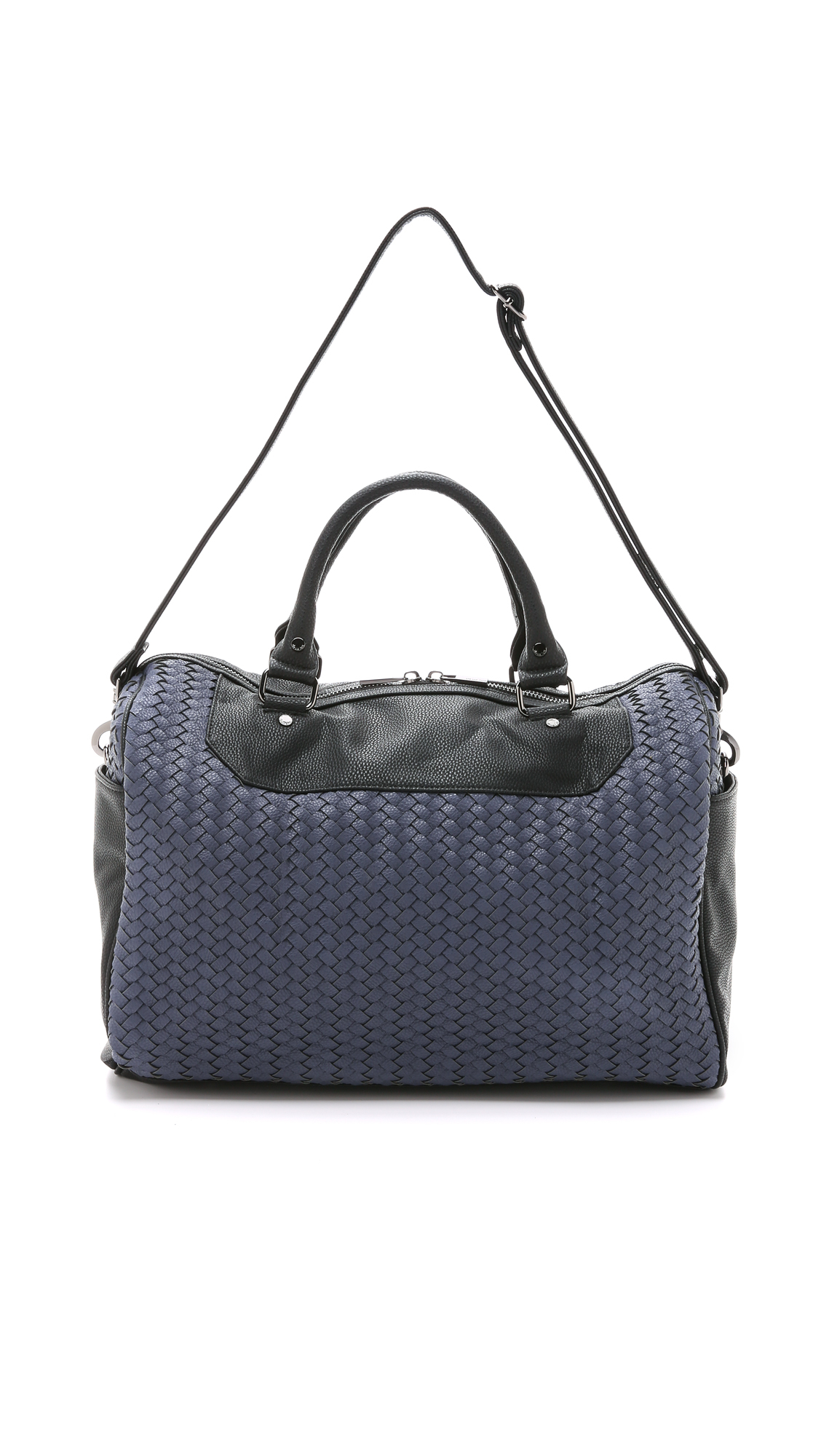 Deux Lux Lexington Weekender Bag Navy In Blue Lyst