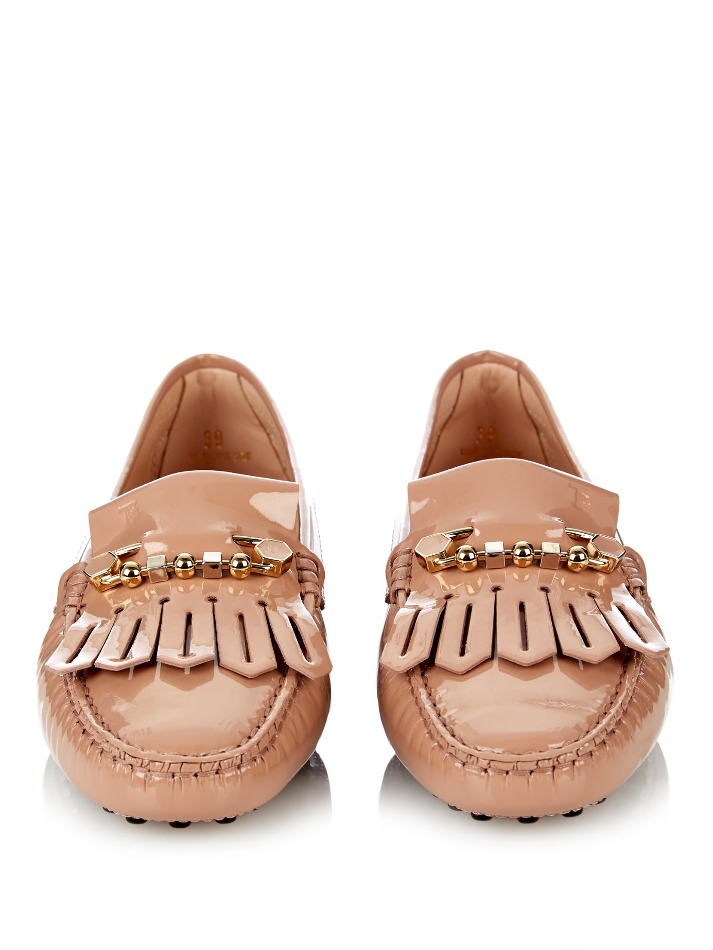 Cheap Professional Buy Sale Online Tod's Gommino fringe leather loafers FZ4Vgq