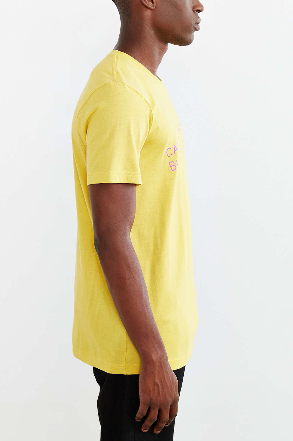 Urban outfitters X Uo Canu0026#39;t Complain Tee in Yellow for Men | Lyst