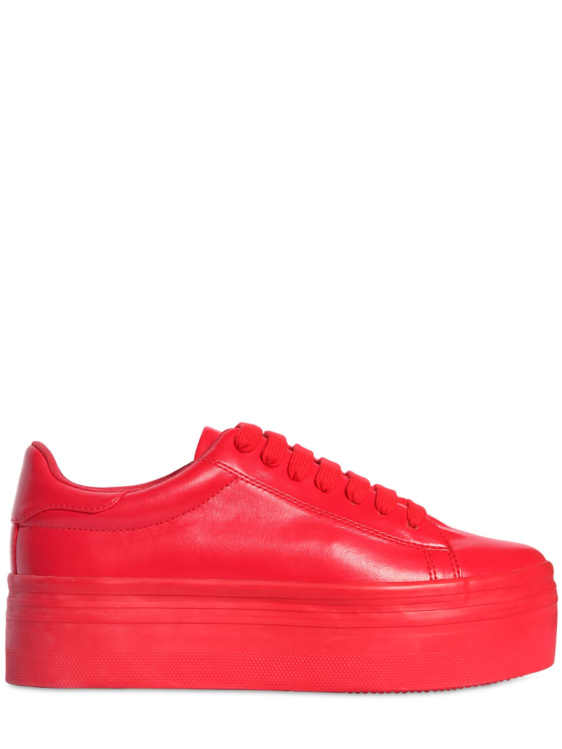 Jeffrey Campbell 60MM LEATHER SNEAKERS 16sEi