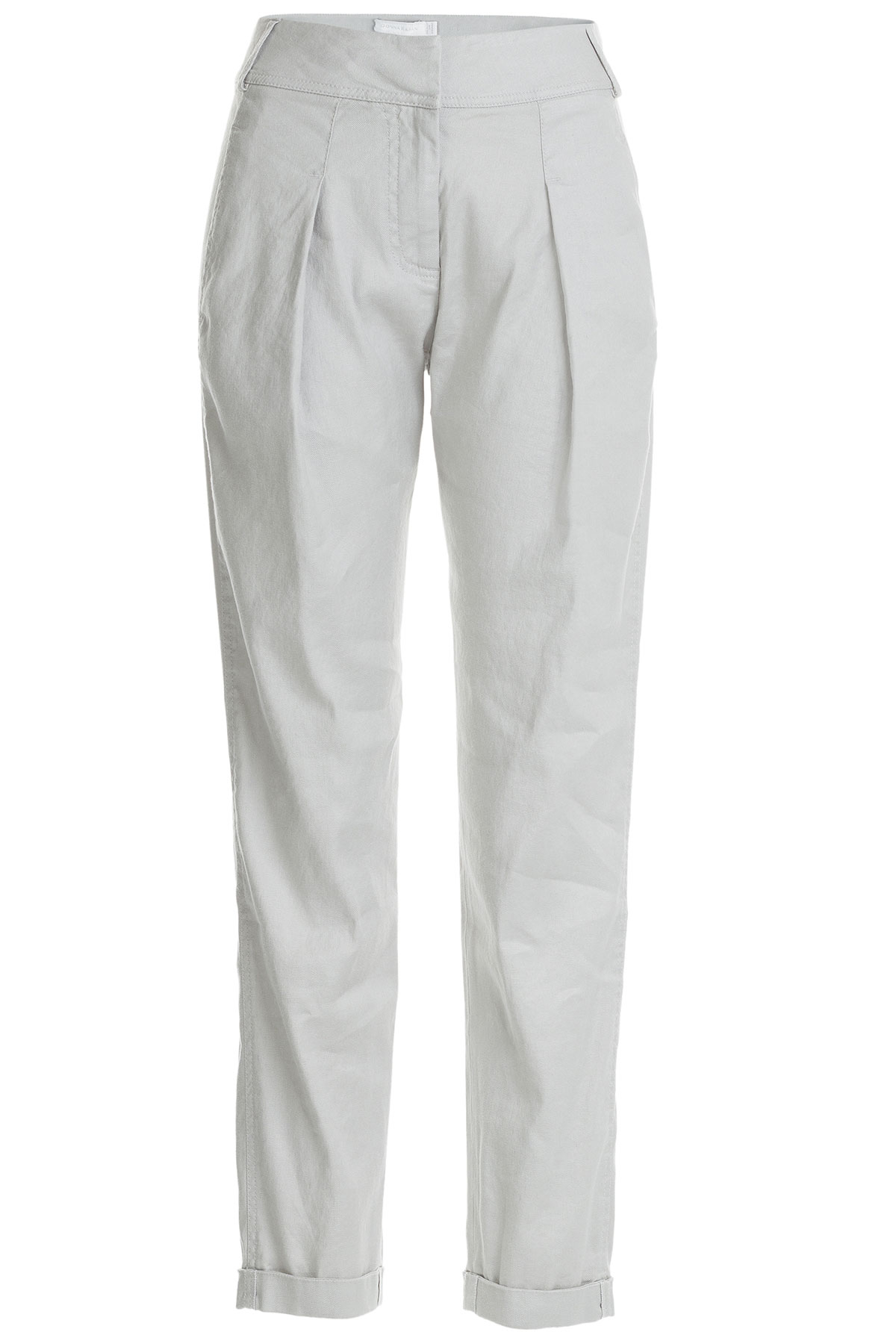 Perfect Max Mara Maser Linen Pants In Gray  Lyst