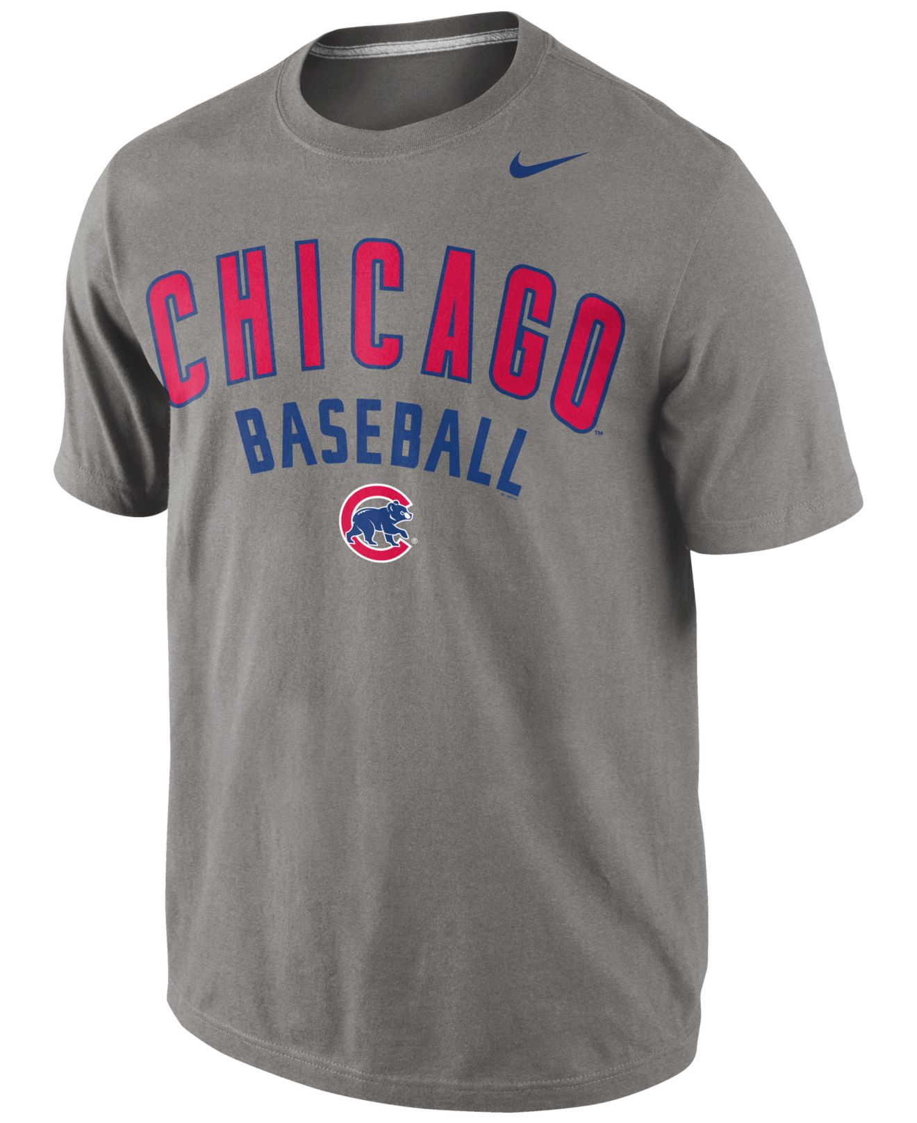 Lyst Nike Men S Chicago Cubs Away Practice T Shirt In
