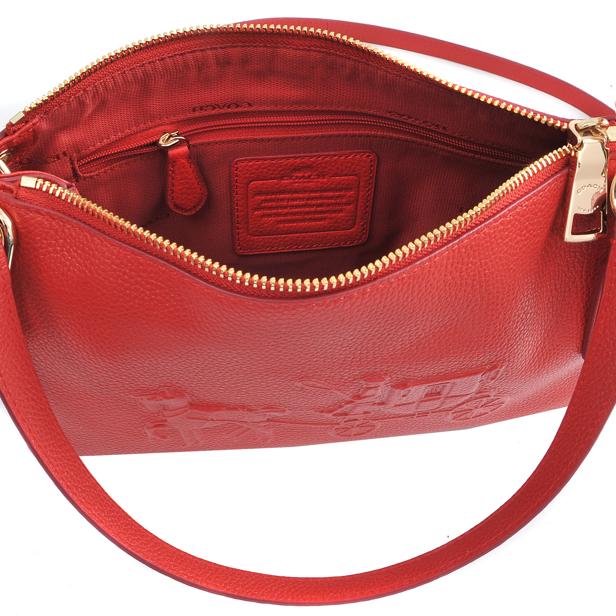 Coach Mini Charley Crossbody Bag In Red Lyst