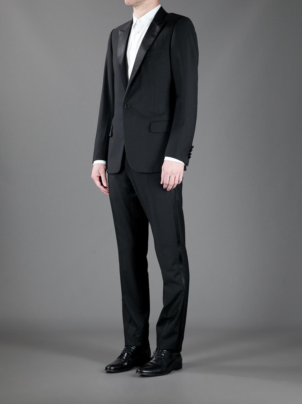 Lyst - Dior Homme Tuxedo in Black for Men 8304d4540