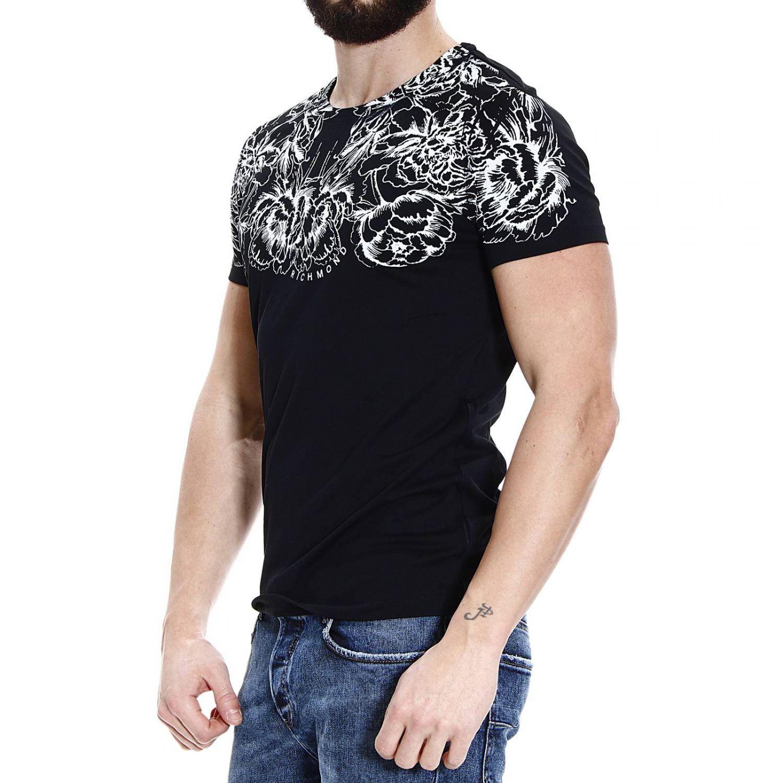 Richmond x t shirt half sleeve crew neck floral printed in for T shirt printing richmond va