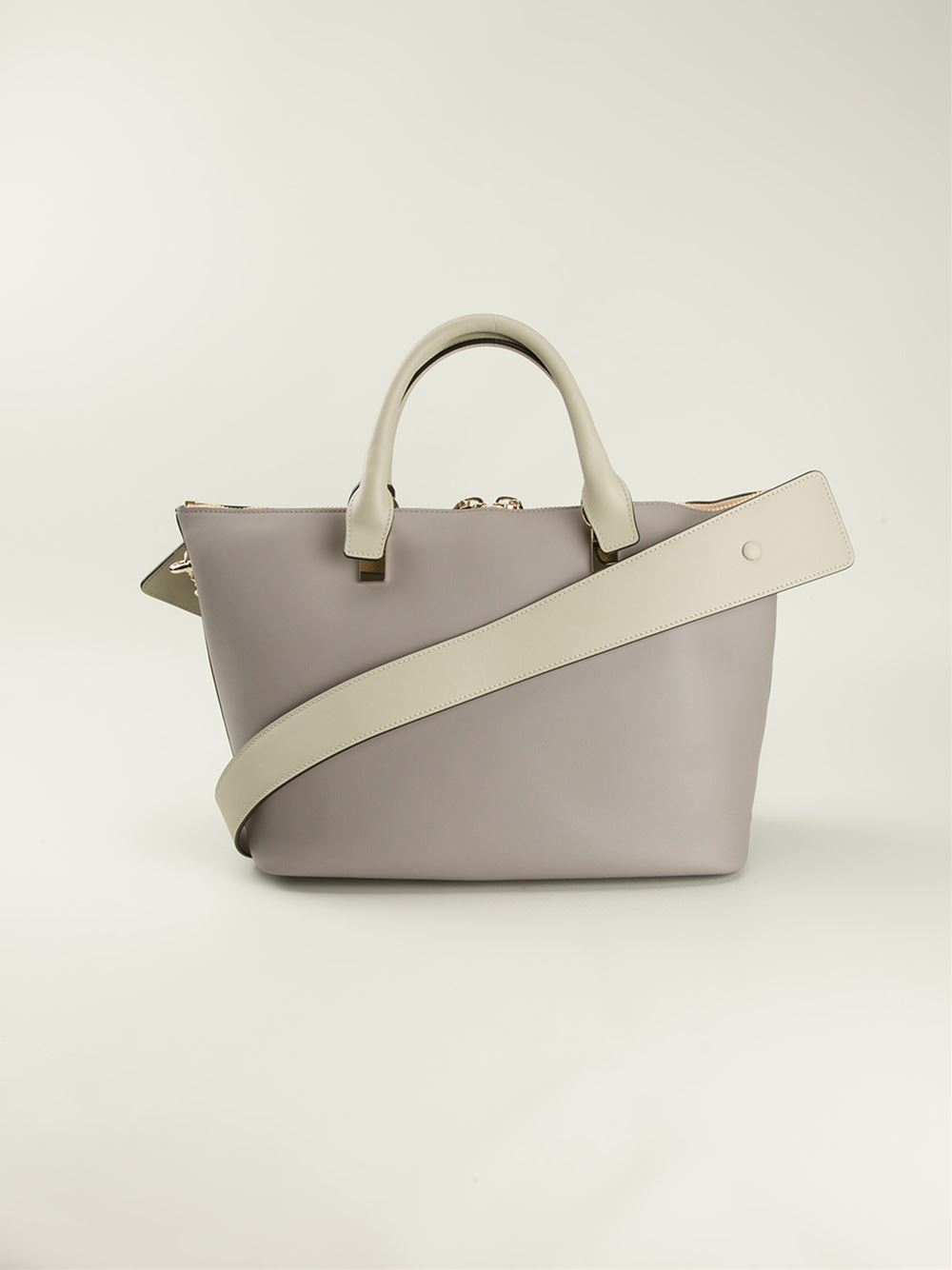 Chlo¨¦ Large Baylee Tote in Gray (grey) | Lyst
