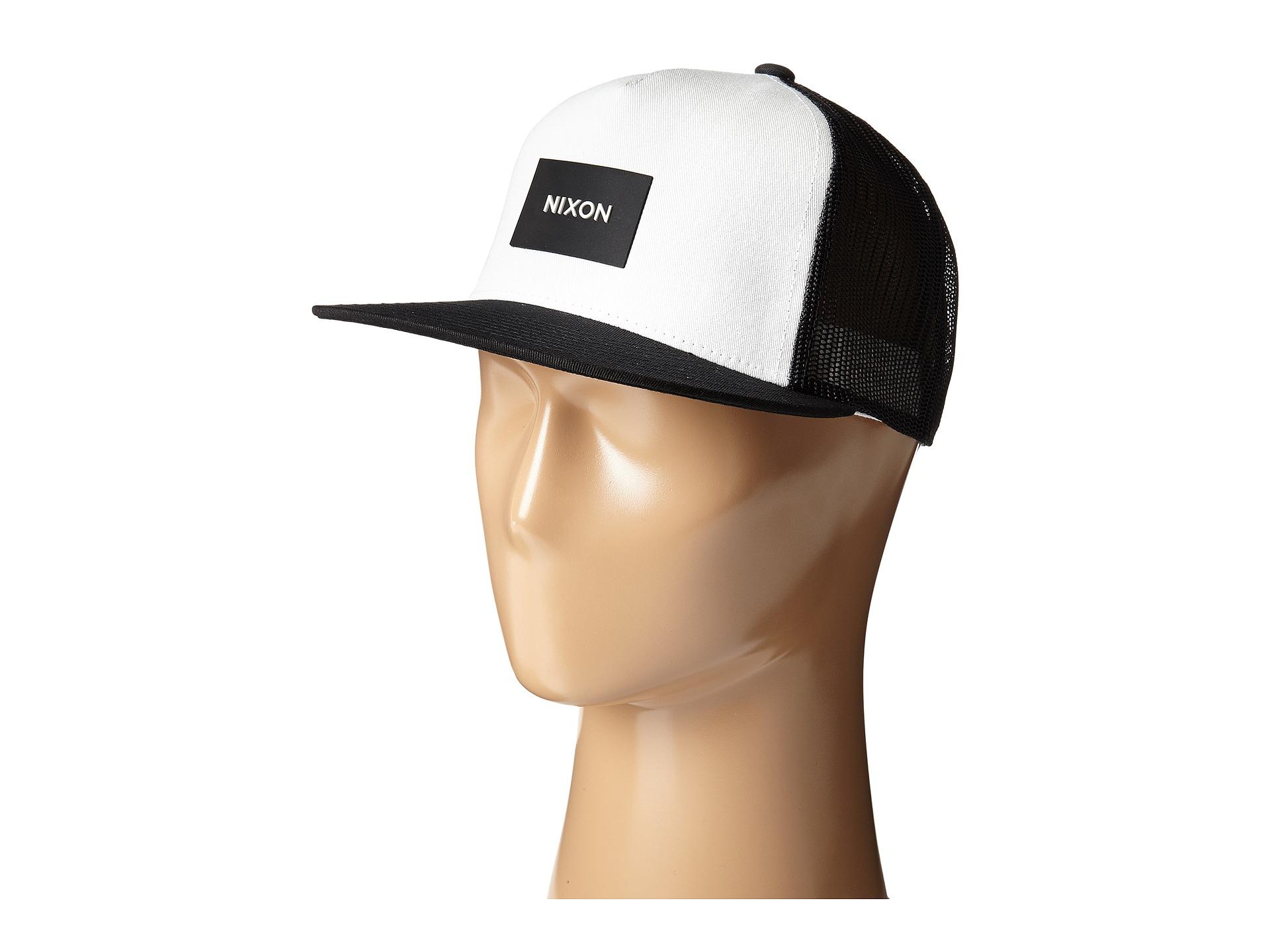100e29e712cd5 Nixon Team Trucker Hat in Black for Men - Lyst