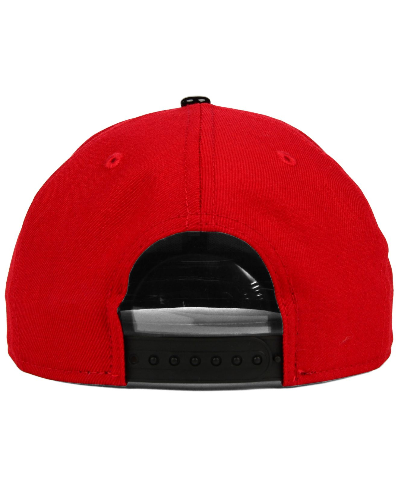 sale retailer 49946 94ad7 ... denmark lyst ktz milwaukee bucks bred hookup 9fifty snapback cap in red  736ce 90aeb