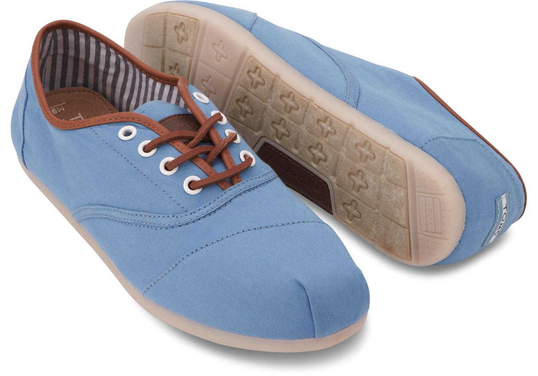 c2c2dd21fac98 Lyst - TOMS Tencel Mens Cordones in Blue for Men