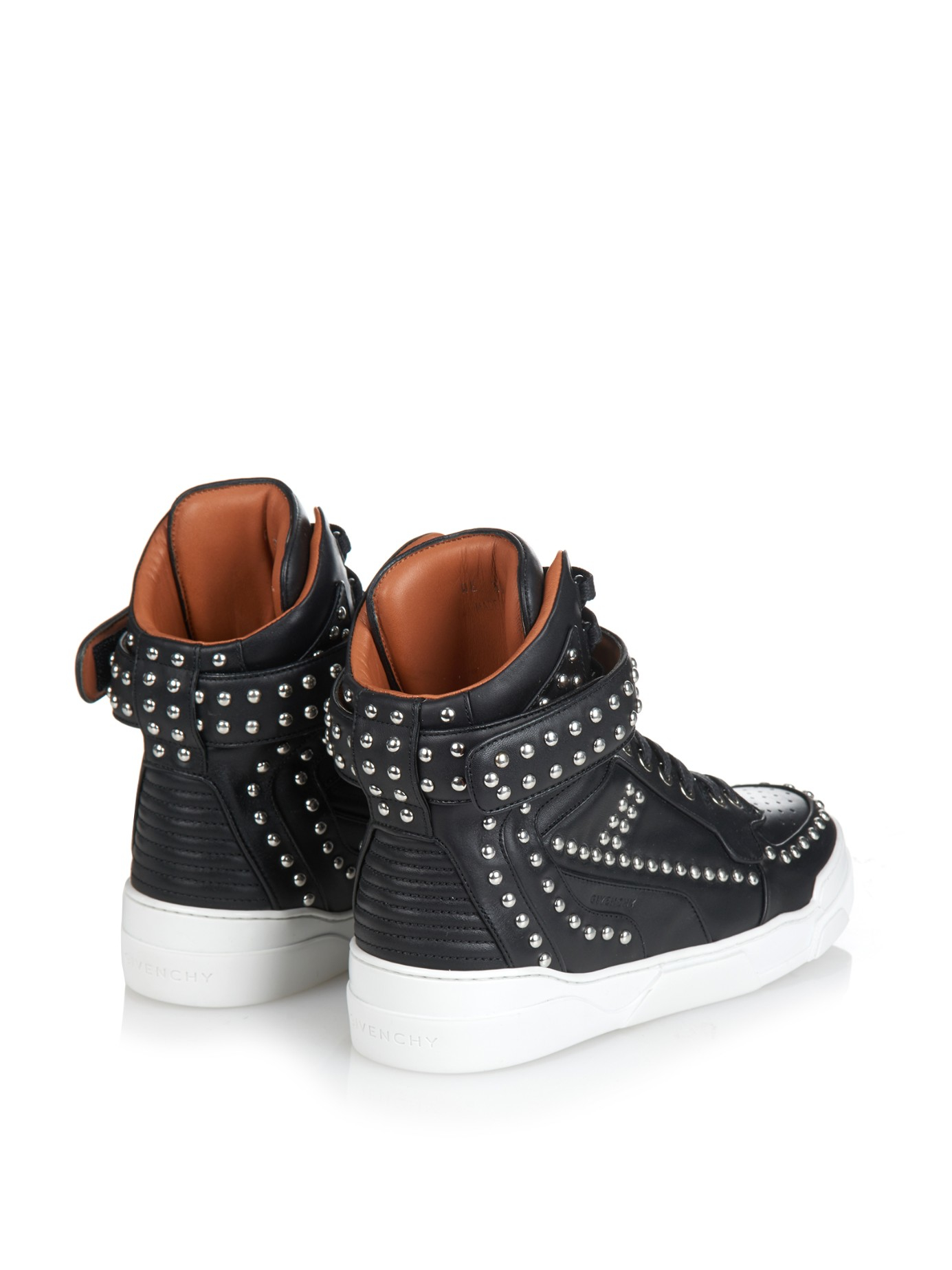 Givenchy Leather High Trainers HDuDUFBIQd