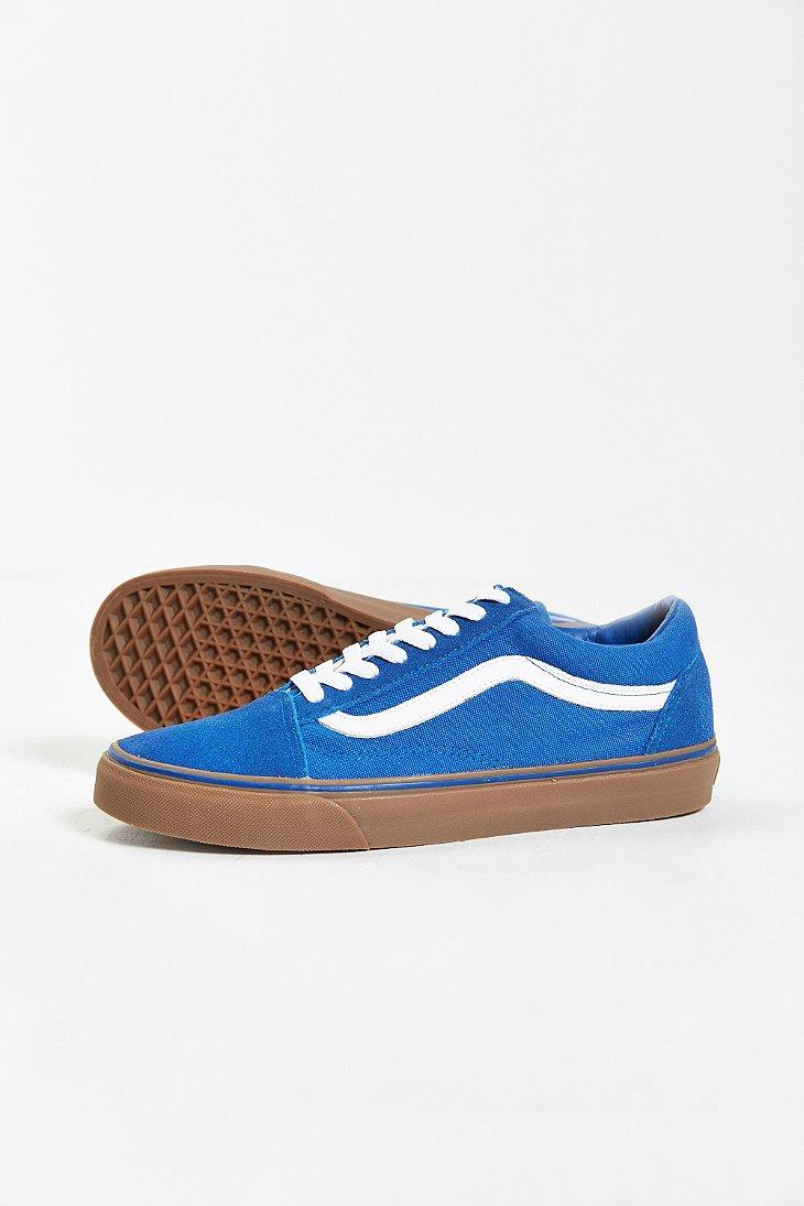 249937381a Lyst - Vans Old Skool Gum Sole Sneaker in Natural for Men