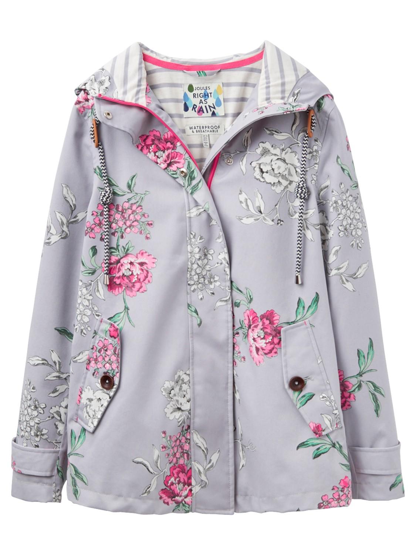 14bb3757b Joules Right As Rain Coast Floral Print Waterproof Jacket - Lyst