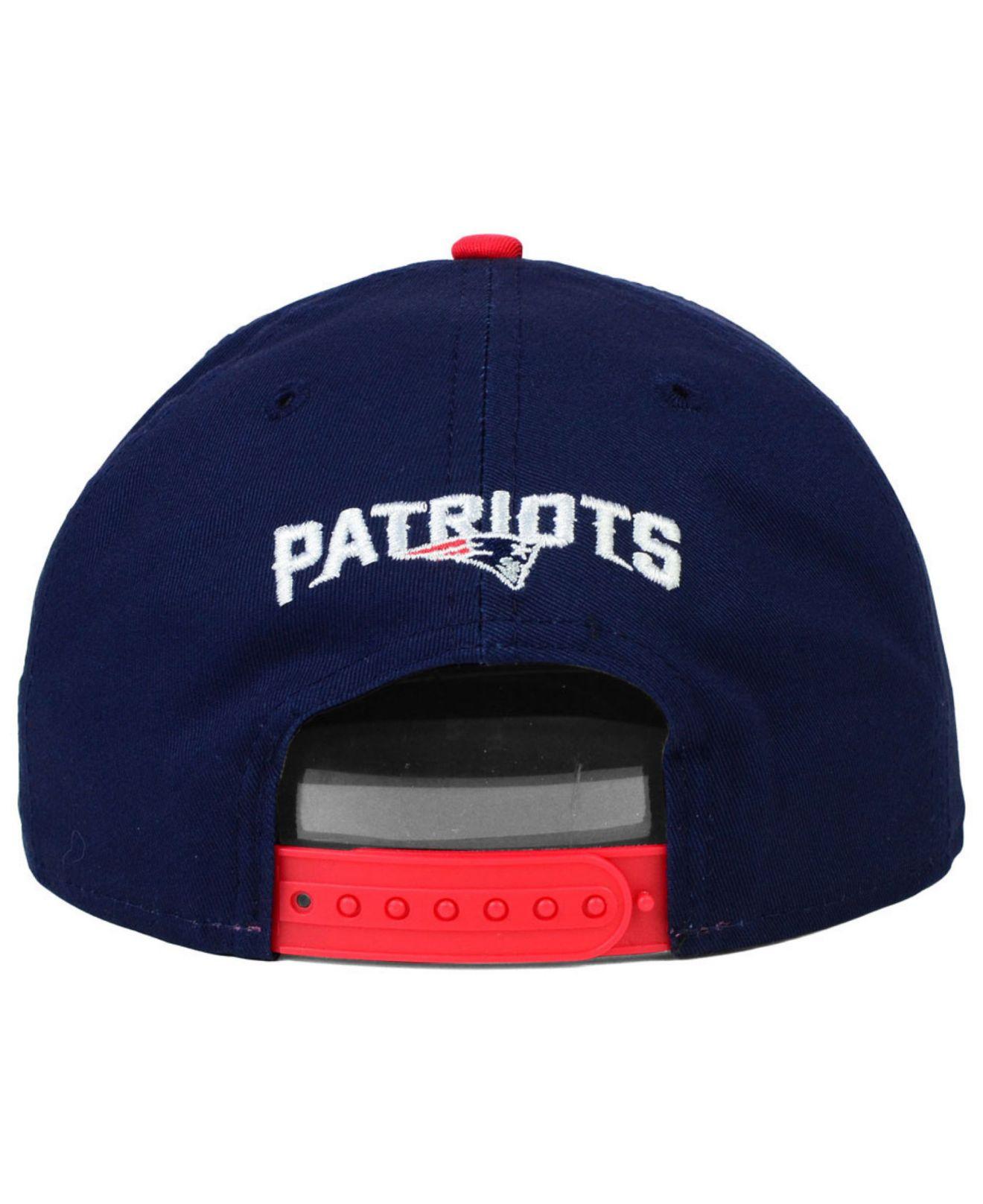 72cc87df9 Lyst - KTZ New England Patriots 2015 Nfl Draft 9Fifty Snapback Cap ...