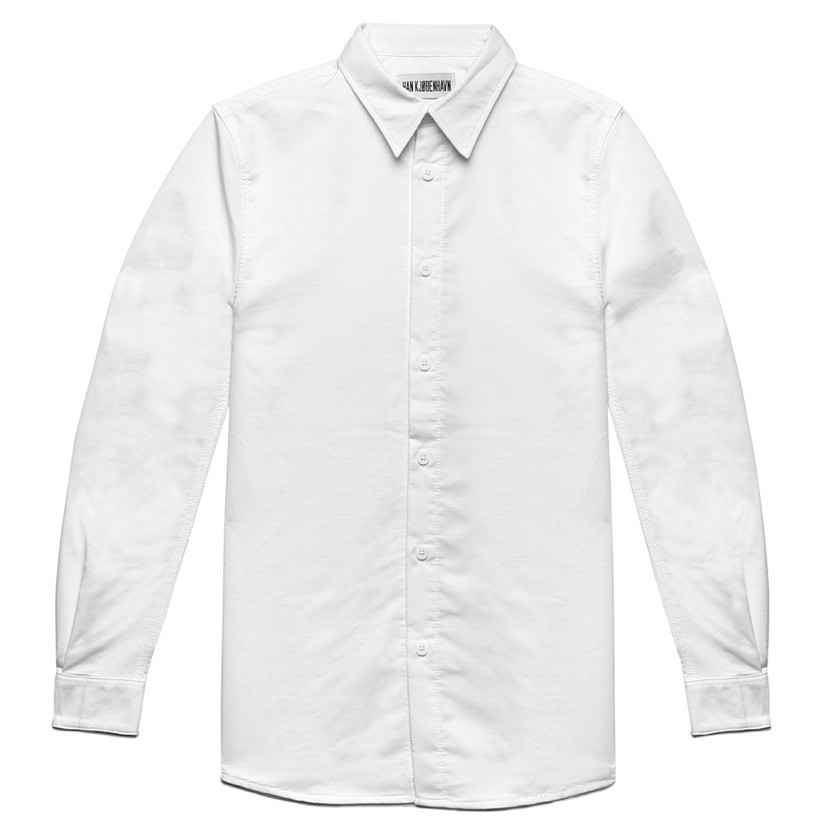 Han kjobenhavn Classic White Shirt in Gray for Men | Lyst