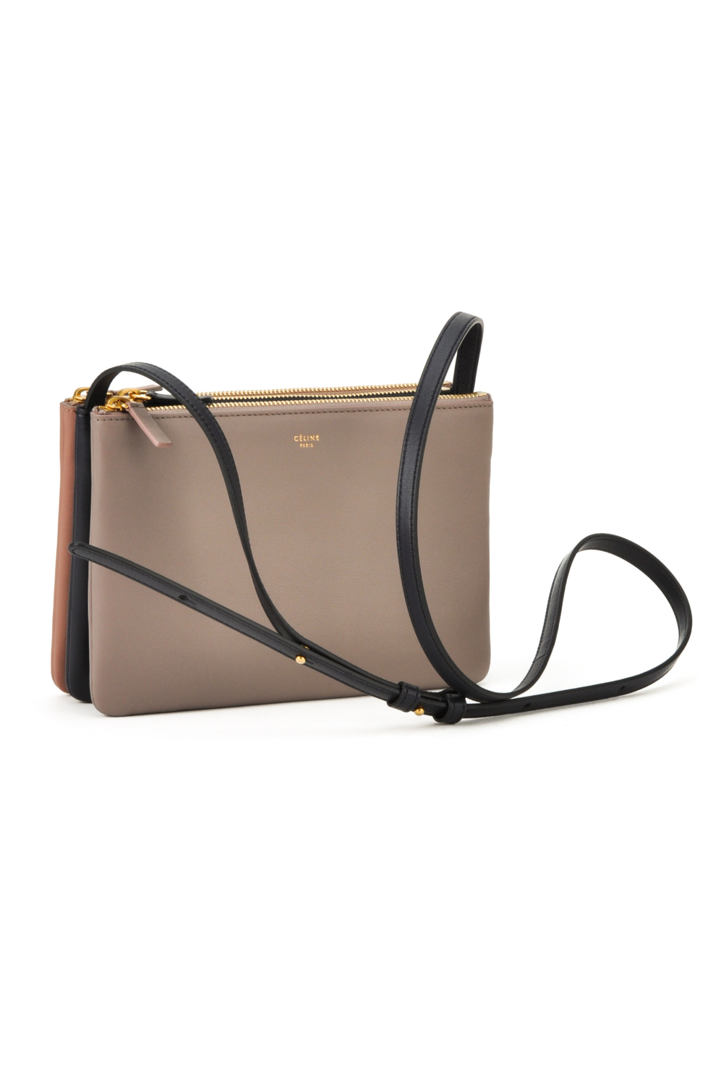 celine bag gray yslk  celine camel leather handbag trio