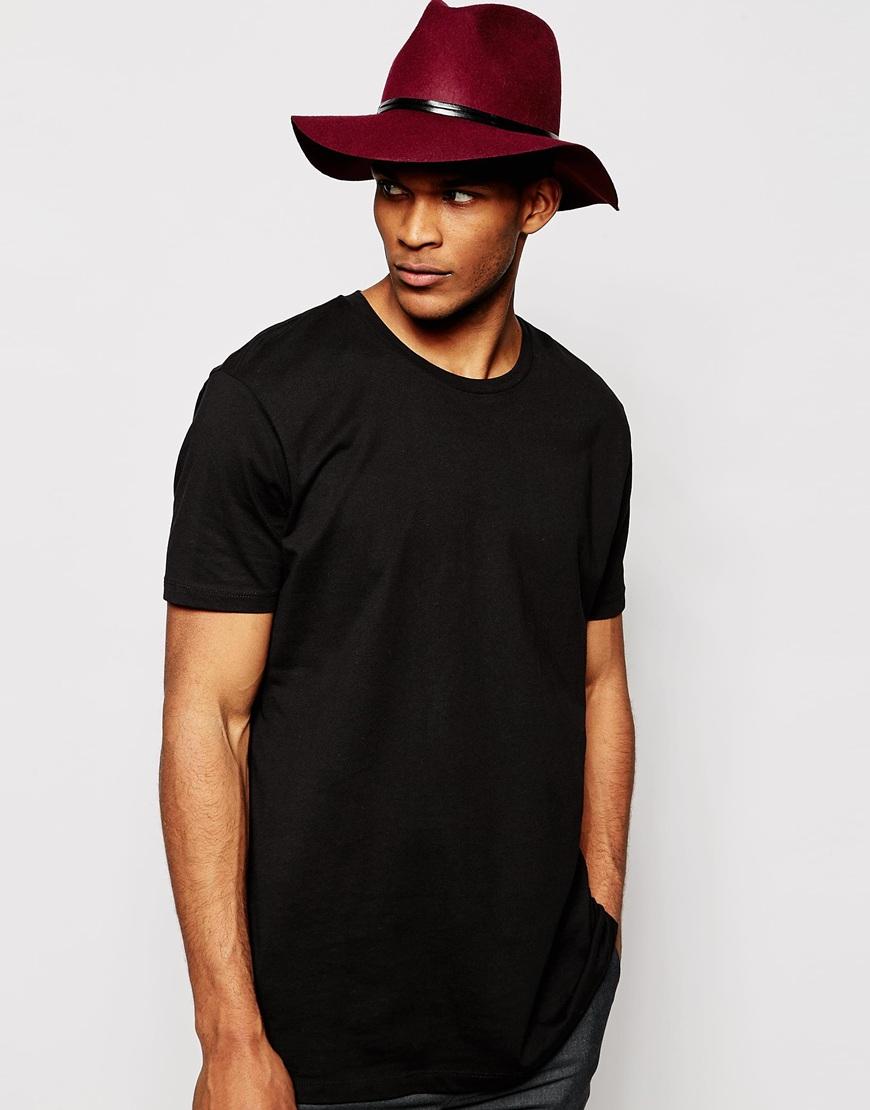 Lyst - Catarzi Wide Brim Unstructured Fedora Hat in Purple for Men c7bfbd277cb