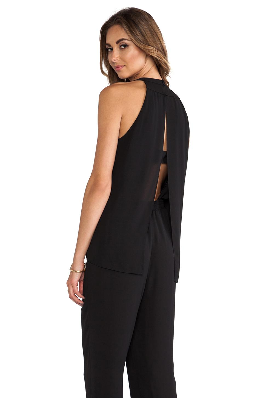 Lyst Bcbgmaxazria Zoelle Jumpsuit In Black