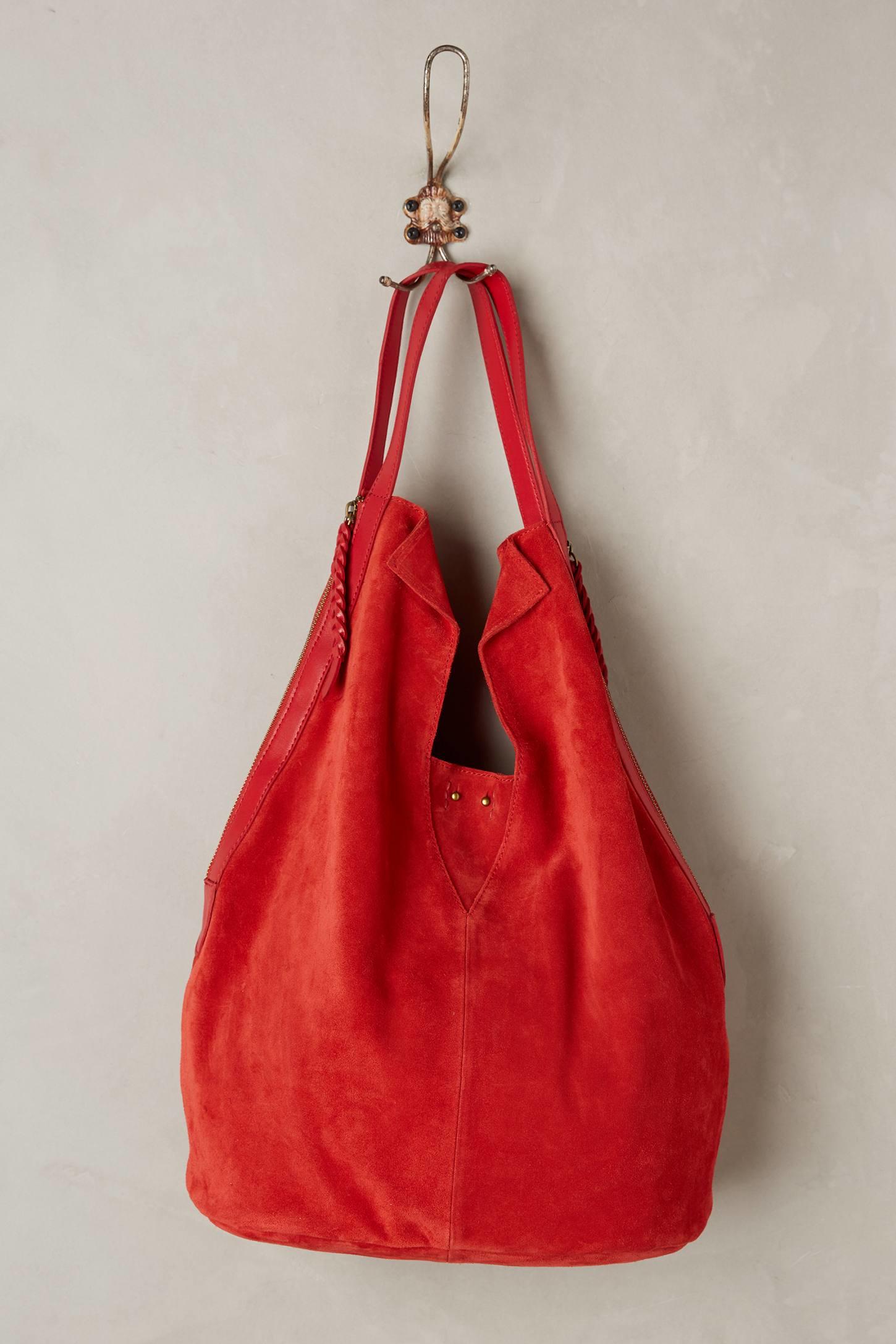Holding horses Charlottenburg Hobo Bag in Red | Lyst