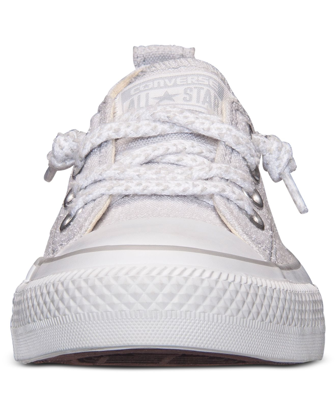 275cf2b27f2 Lyst - Converse Women S Chuck Taylor Shoreline Slub Linen Casual Sneakers  From Finish Line in Natural