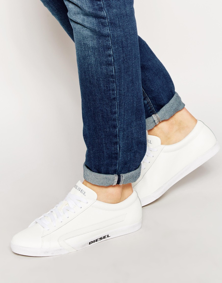 Diesel Shoes White